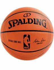 18 Assiettes en carton NBA Spalding™ 23 cm