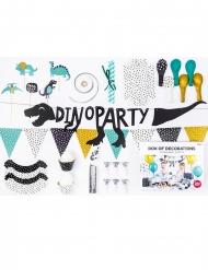 Kit décoration anniversaire dinosaure 39 pièces