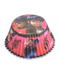 50 Moules à cupcake Ladybug™ 7 cm