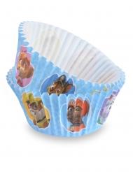 50 Moules à cupcake Pat'Patrouille™ 7 cm