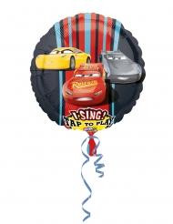 Ballon en aluminium musical Cars 3™ 71 cm