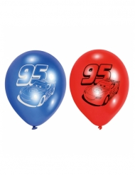 6 ballons en latex Cars™ 23 cm