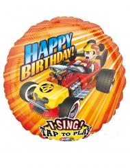 Ballon en aluminium musical Mickey Roadster Racers™ 71 x 71 cm
