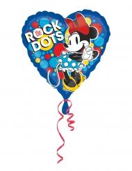 Ballon en aluminium coeur Minnie rétro™ 43 cm