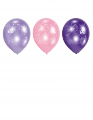 6 ballons en latex Princesse Sofia™ 23 cm