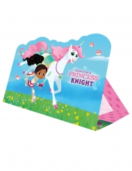 8 Invitations Nella Princesse Chevalier™