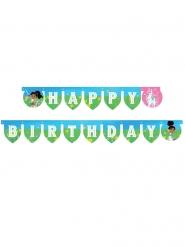 Guirlande en carton Happy Birthday Nella Princesse Chevalier™ 210 x 13cm