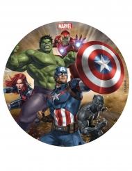 Disque en sucre Avengers™ 16 cm