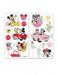 Feuilles comestibles à découper Mickey et Minnie™ 18,7 gr