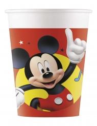 8 Gobelets en plastique Mickey copains de jeux™ 200 ml