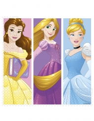 20 Serviettes en papier Princesses Disney Jour de Rêve™ 33 x 33 cm