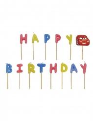 Bougies Happy Birthday multicolore Cars™
