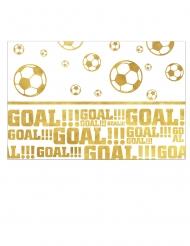 Nappe en plastique Football Gold 120 x 180 cm