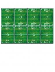 Nappe en plastique football party 120 x 180 cm