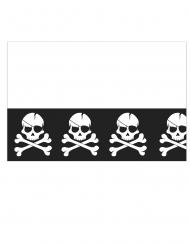 Nappe en plastique Pirate crâne noir 120 x 180 cm