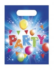 6 Sacs de fête fabulous party