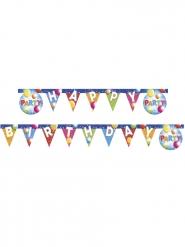 Guirlande Happy Birthday fabulous party 2 m