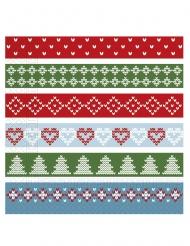 20 Serviettes en papier Noël nordique 33 x 33 cm