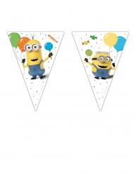 Guirlande 9 fanions Minions ballons party™ 2,3 m