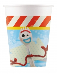 8 Gobelets en carton Toy Story 4™ 200 ml