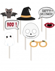 Kit photobooth sweety halloween 8 accessoires