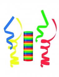 Rouleau de serpentins en papier multicolores