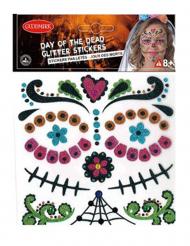 Stickers pailletés Dia de los Muertos
