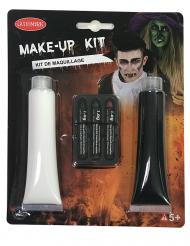 Kit maquillage peinture et crayons halloween