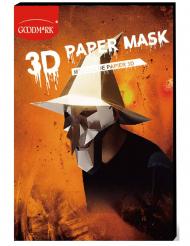 Masque de papier 3D sorcière adulte