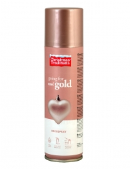 Spray décoration Noël rose gold 150 ml