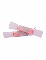 8 Crackers à confettis multicolores 1,6 gr 17 cm