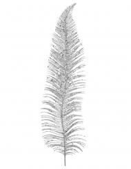 Feuille en métal argentée 12,5 x 48 cm