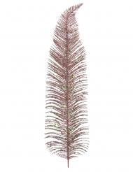 Plume en métal rose gold 12,5 x 48 cm