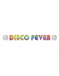 Bannière en carton disco fever 15 x 213 cm