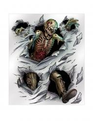 Affiche murale zombie 152 x 182 cm