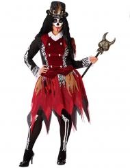 Déguisement sorcière vaudou femme grande taille