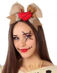 Serre-tête poupée vaudou adulte