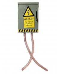 Décoration à suspendre disjoncteur animé son et lumière