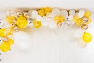 Kit arche de 70 ballons dorée