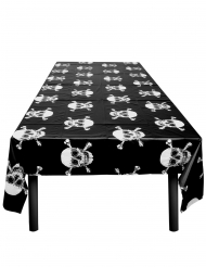 Nappe en plastique Pirate Jolly Roger 130 x 180 cm