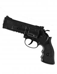 Pistolet policier noir 21 cm
