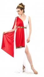 Déguisement grande taille déesse romaine à drapé femme