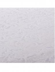 Nappe en tissu blanche embossée 140 x 240 cm