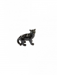 Panthère en résine noire 6 cm