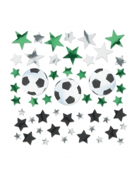 Confettis de table ballons de foot 34g