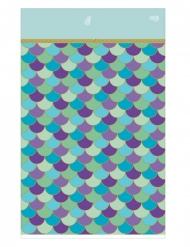 Nappe en papier rêves de sirène 137 x 259 cm