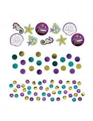 Confettis de table rêves de sirène 14 g
