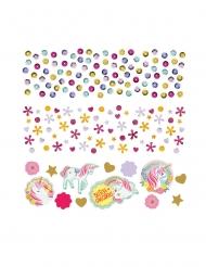 Confettis de table jolie licorne magique 34 g