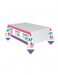 Nappe en plastique Birthday Vibes 137 x 243 cm