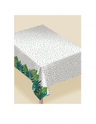 Nappe en plastique tropical chic 132 x 228 cm